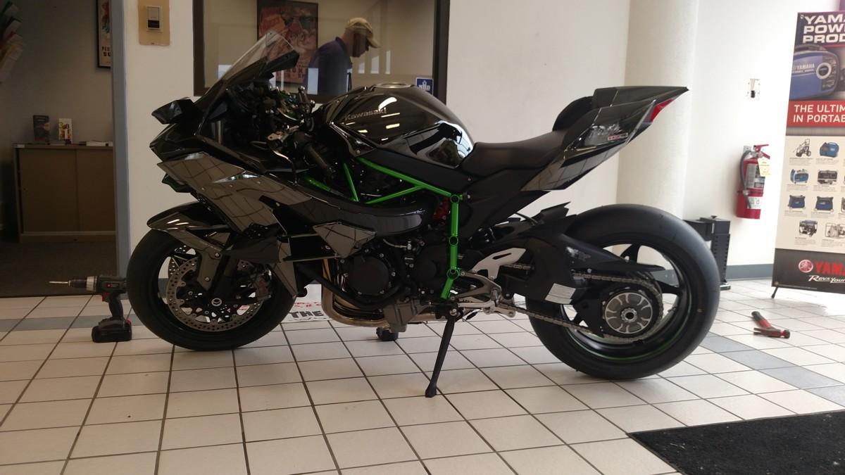Kawasaki H2R For Sale >> Kawasaki Ninja H2 Forum View Single Post 2015 Kawasaki