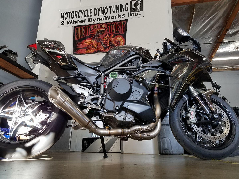 Mods installed! - Kawasaki Ninja H2 Forum