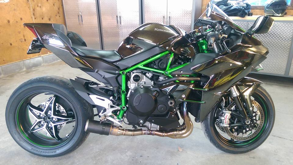 My Custom Ninja H2 Exhaust Sc Project