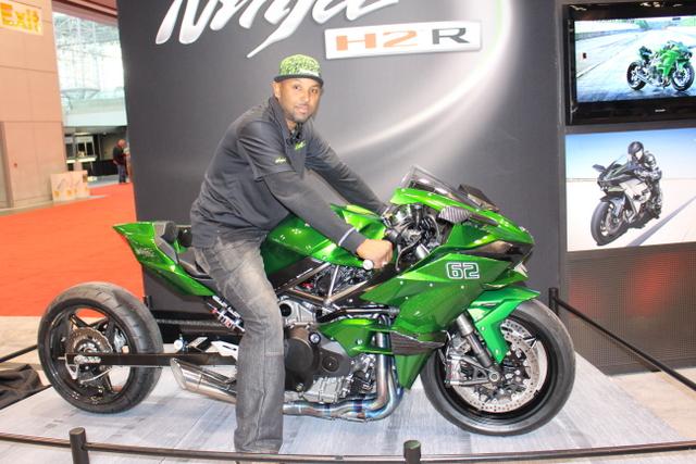 2015 Kawasaki Ninja H2r V 2006 Kawasaki Xtr Kawasaki