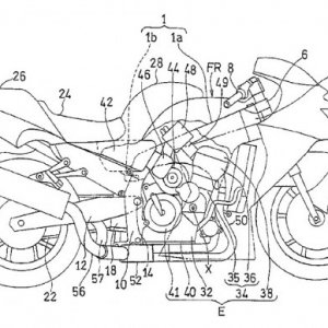 kawasaki supercharger engine patent